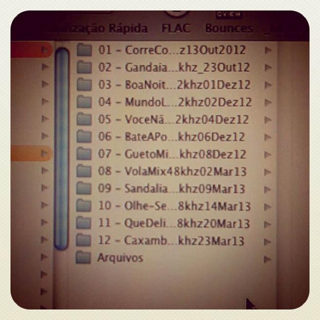 Lista de músicas do novo disco da Karol Conká