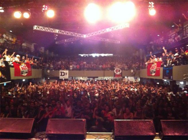 Show do Racionais em Curitiba