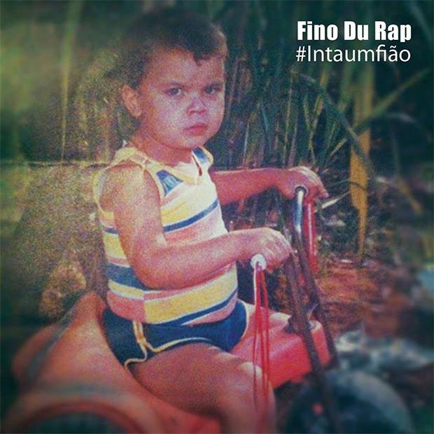 Capa do CD Intaumfião, do Fino du RAP