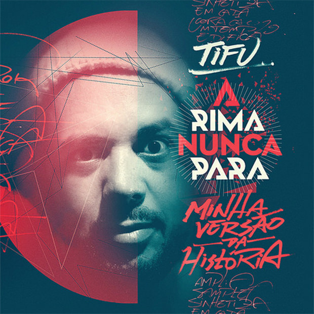 CD A Rima Nunca Para, do Tifu