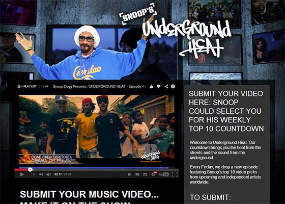 Snoop Dogg recomenda Cone Crew Diretoria