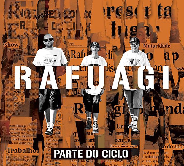 Capa do CD Parte do Ciclo, do Rafuagi