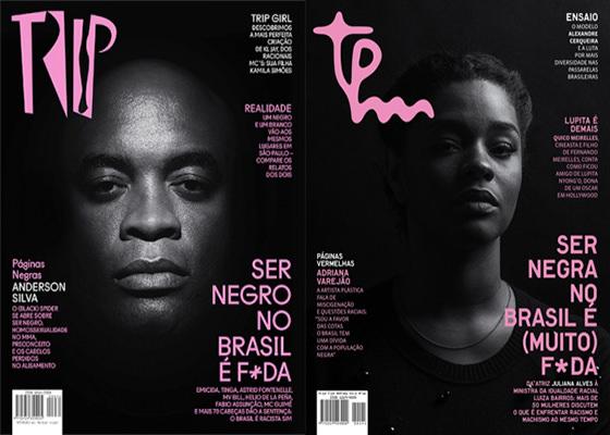 Revistas TRIP e TPM contra o racismo