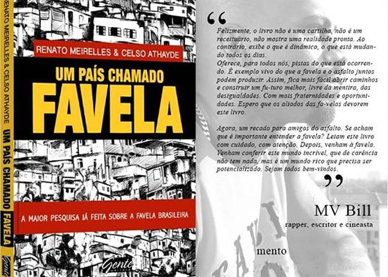 MV Bill no livro Um País Chamado Favela