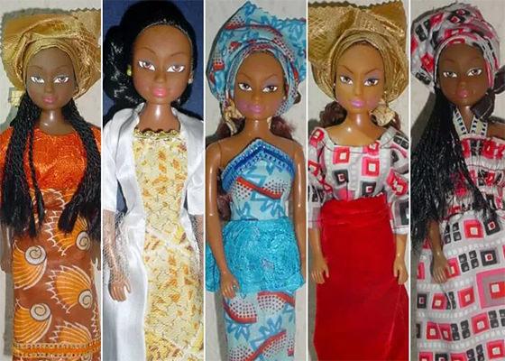 Bonecas Negras da Queens of Africa