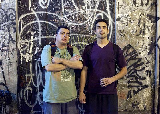 Cripta Djan e Rafael Pixabomb (Foto: Leonardo Soares)