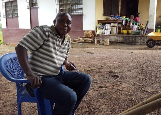 Melvin Korkor, médico que sobreviveu ao Ebola