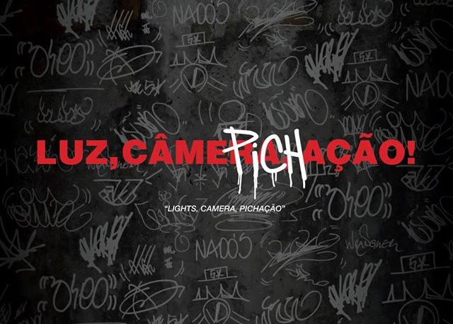 Documentário Luz, Câmera, Pichação