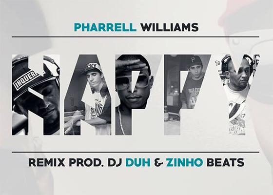 DJ Duh e Zinho Beats no remix de Happy